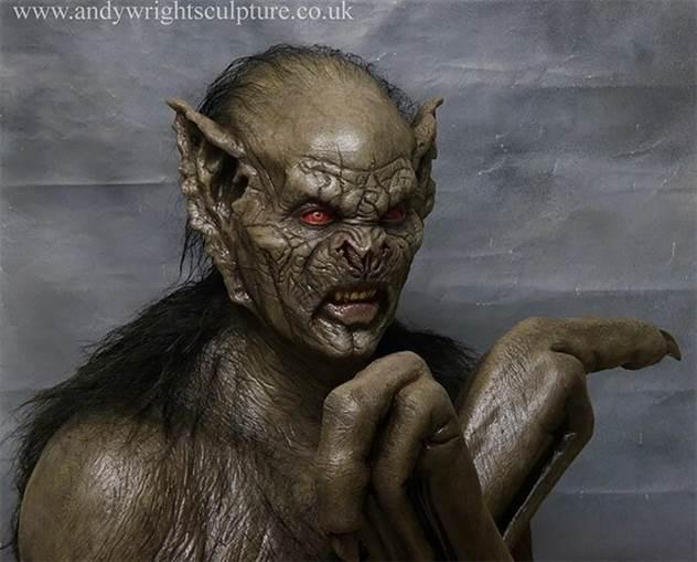 Невероятно реалистичные скульптуры Энди Райта ( 36 фото )