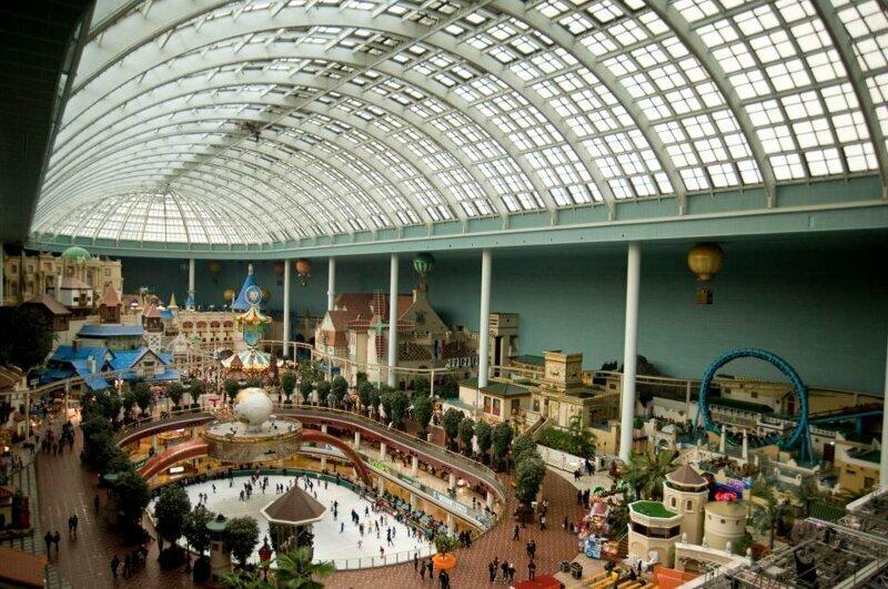Кроме Диснейленда в мире есть еще множество других популярных парков развлечений!(18 фото)