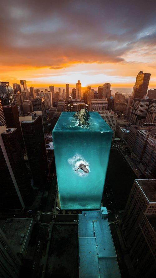 Сюрреалистический мир в фотоманипуляциях Серкана Лачина (16 фото)