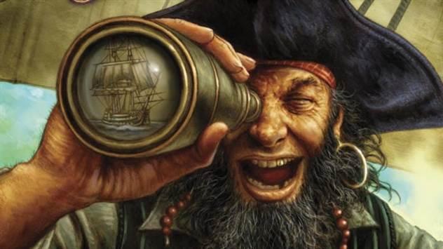 Почему пираты носили серьги в ушах? ( 1 фото )