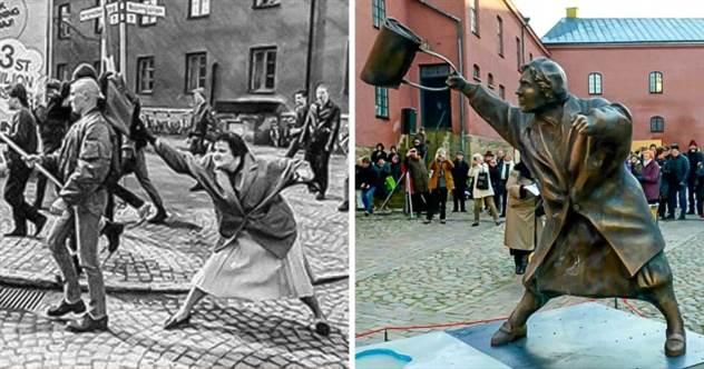 10 скульптур, которые оставят вас абсолютно равнодушными. Пока мы не расскажем их истории ( 11 фото )
