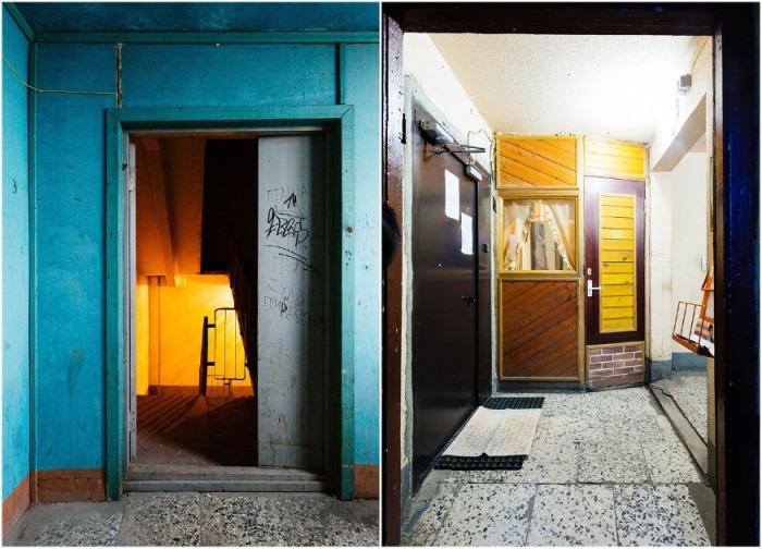 Странная архитектура советской эпохи: как появились жилые дома на -курьих ножках- (14 фото) (видео)