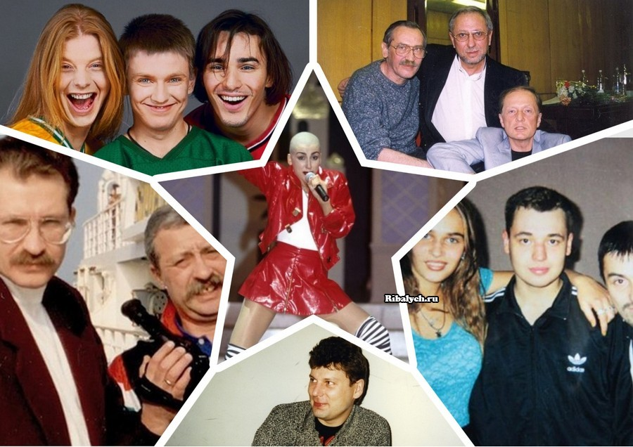 Кумиры 90х: знаменитости прошлого на старых фотографиях