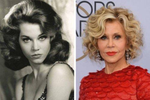 22 фотографии знаменитых красавиц и красавцев прошлого века тогда и сейчас