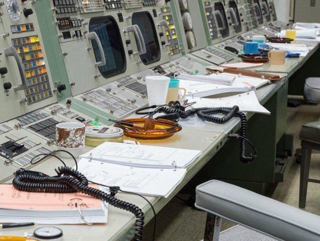 Восстановленный центр управления полётами миссии -Аполлон-
