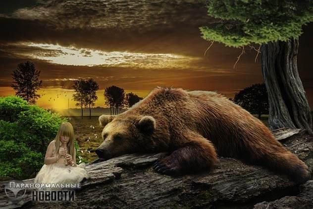 Львы спасли девочку от похитителей и другие истории о необычных животных-защитниках ( 4 фото )