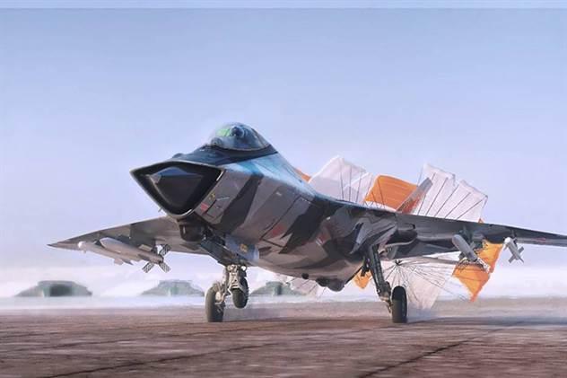 МиГ-41: самолет, который сможет наносить удар из космоса ( 3 фото )