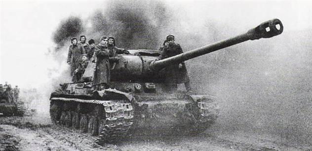 Танки ИС-2 и Tiger. Война на бумаге и в реальности ( 8 фото )