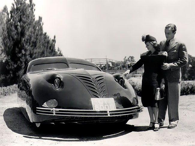 Phantom Corsair 1938 — невероятный автомобиль будущего