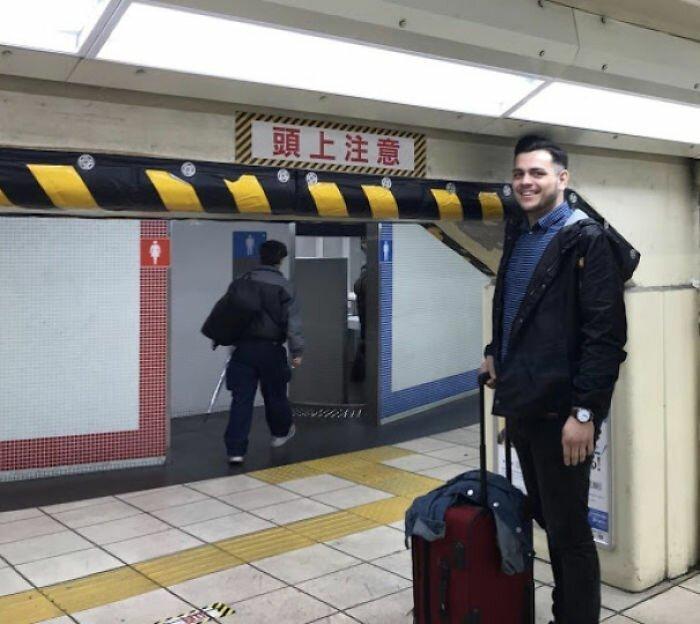 Эти снимки доказывают, что Япония не создана для высоких людей