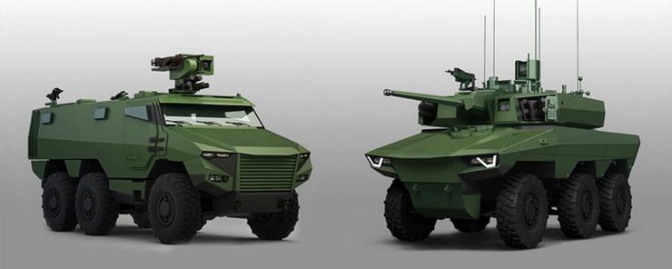 «Гриффон» и «Ягуар»: новейшие бронемашины французской армии. фото. видео