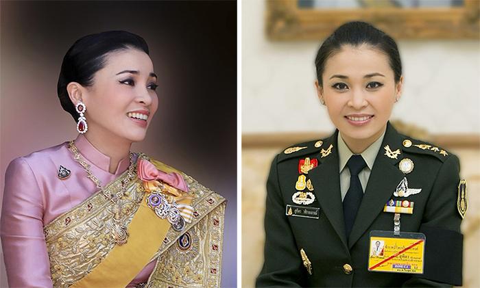 Новая королева Таиланда— бывшая стюардесса, любящая позировать ввоенной форме