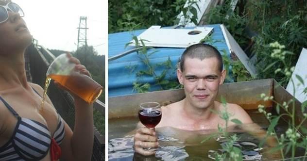 Не нужен нам берег морской: особенности летнего отдыха в России ( 21 фото )
