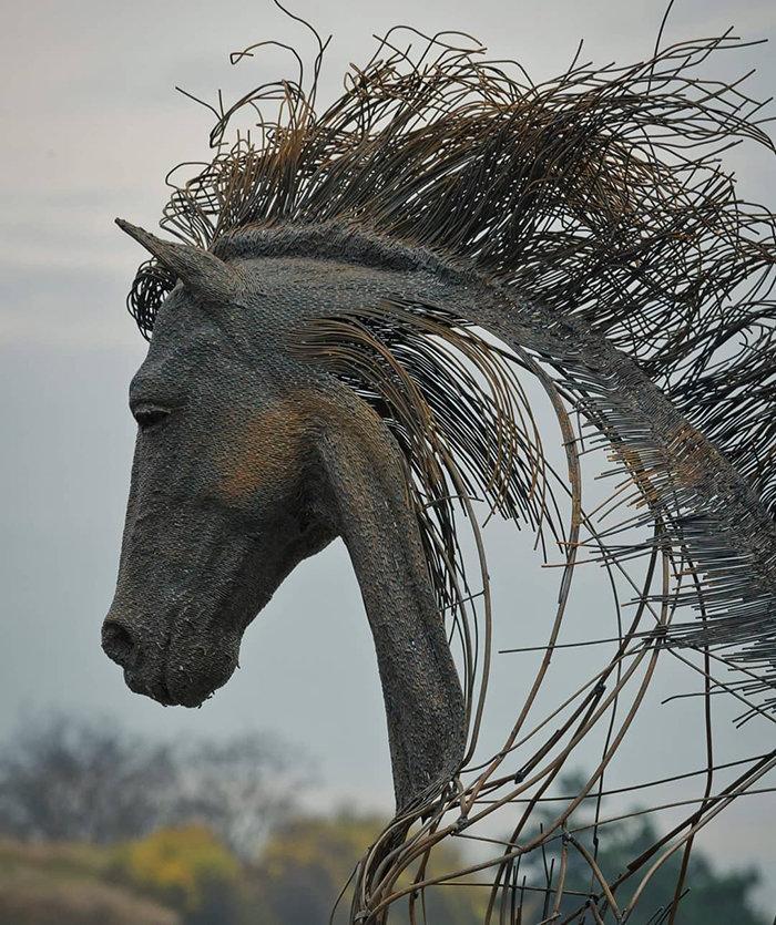 Работы скульптора Дариуса Хулеа (Darius Hulea) ❘ 14 фото