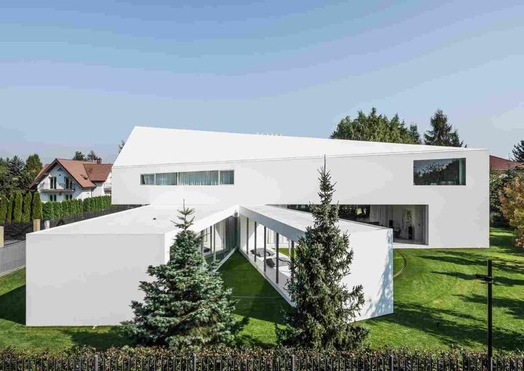 Дом с движущейся террасой в Польше ❘ фото + видео