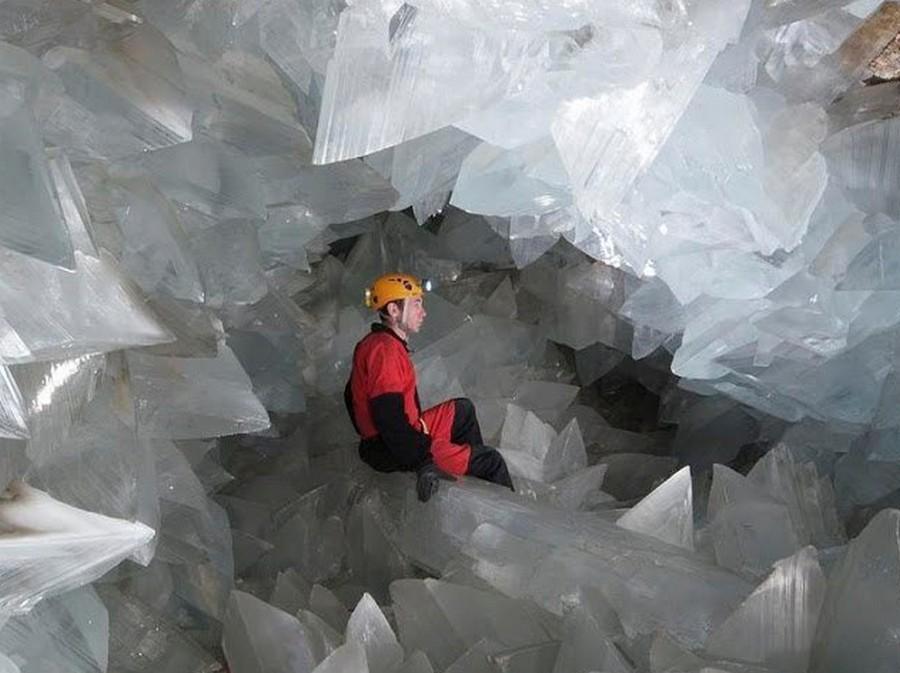 Жеода «La Geoda Gigante» — крупнейшая, доступная человеку