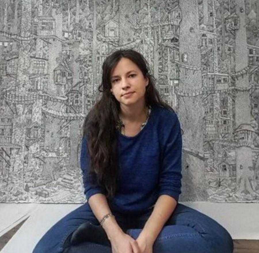 Оливия Кемп и ее фантастические миры в стиле Дюрера