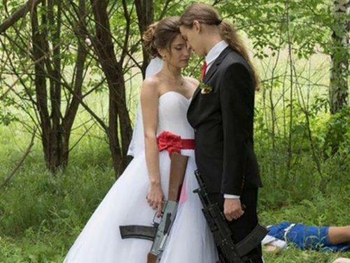 Свадебные фейлы и приколы (15 фото)