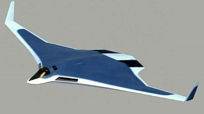 Стратегический бомбардировщик-невидимку нового поколения (5 фото)