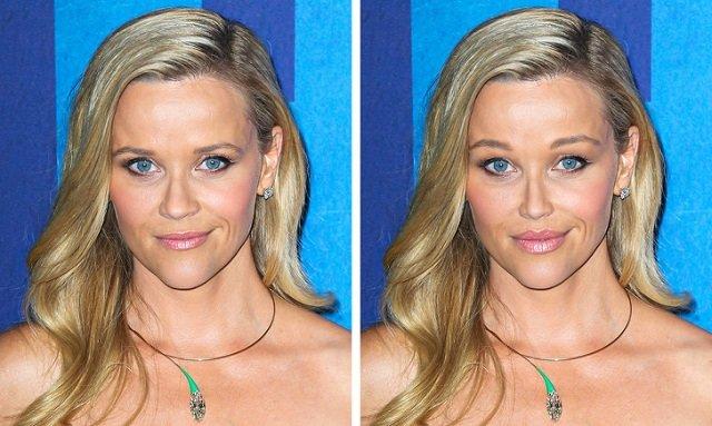 Как бы выглядели голливудские актрисы, если бы решились на «модные» пластические операции (18 фото)