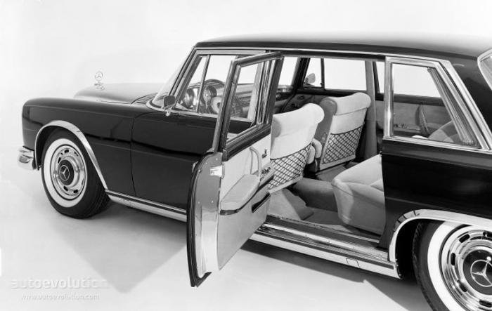Настоящий аристократ Mercedes-Benz W100 1968 (17 фото)