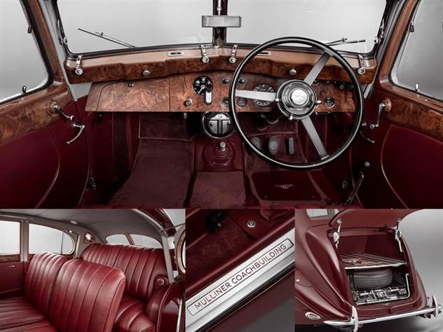 Компания Bentley воссоздала утраченный седан Corniche ( 4 фото )