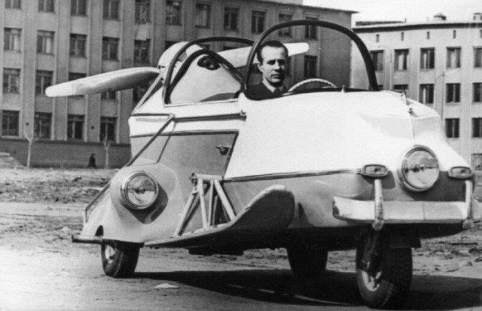 7 удивительных самодельных автомобилей из СССР