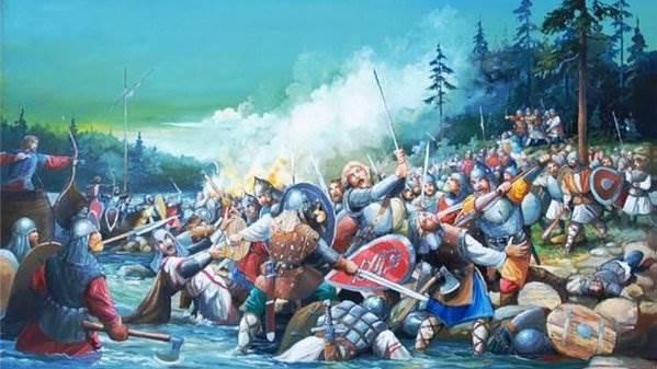 Загадки сражения, после которого Александра прозвали Невским ( 1 фото )