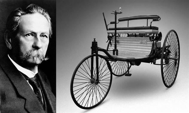 Изобретатель автомобиля и слесарь. Что еще интересного мы знаем о Карле Бенце? ( 8 фото )