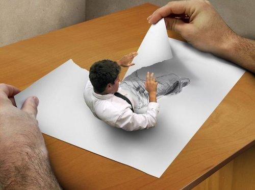 Новые оживающие цифровые картины Туллиуса Хейера (11 фото)
