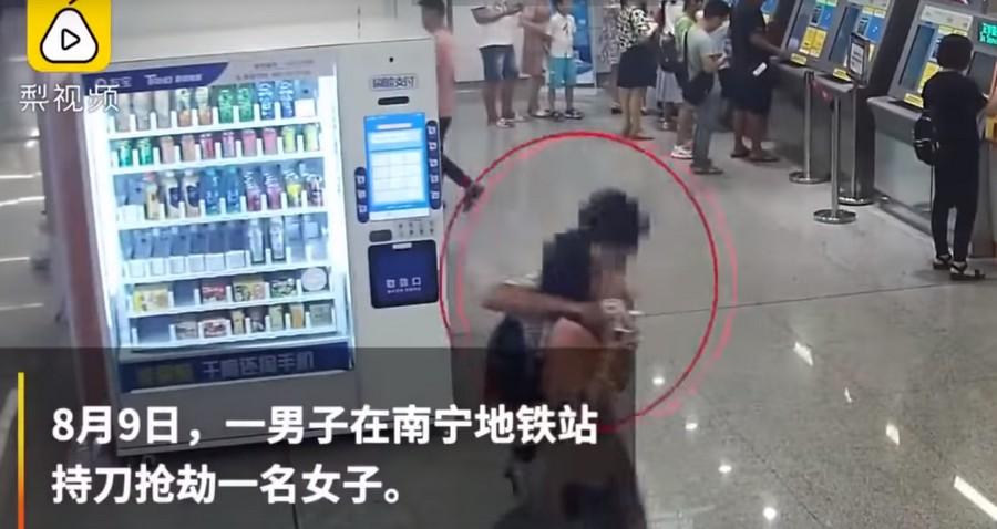 Китайский снайпер спецназа «убрал» преступника