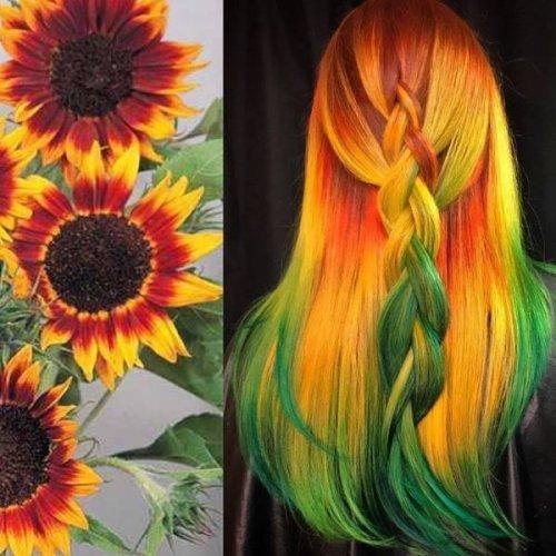 Когда не можешь объяснить парикмахеру нужный цвет, но у тебя есть фотография (16 фото)
