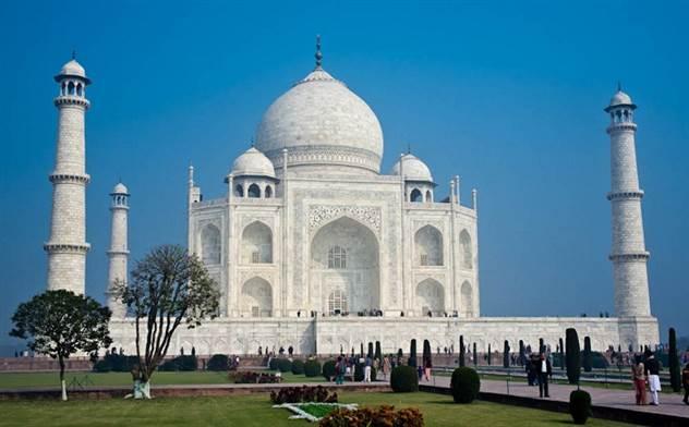 Тадж-Махал: 8 захватывающих фактов о памятнике мировой архитектуры ( 18 фото + 1 видео )
