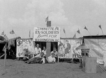 Расстрел голодного народа в Вашингтоне в 1932-ом году ( 1 фото )