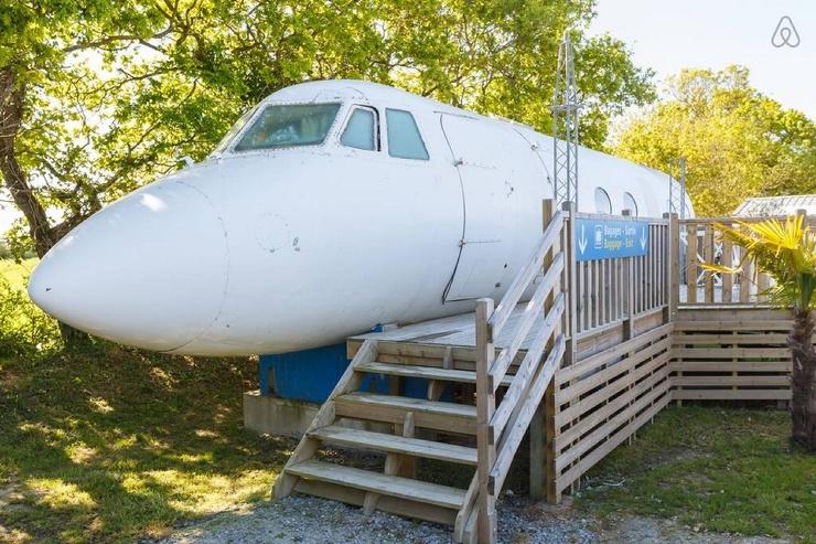Самолет, который можно арендовать на ночь ❘ фото