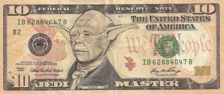 Доллары с Иисусом, лицехватом и постаревшим Кэпом(13 фото)