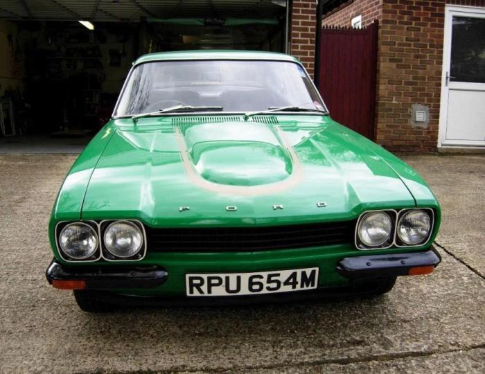 Редкая модель Ford Capri выставлена на продажу в Великобритании