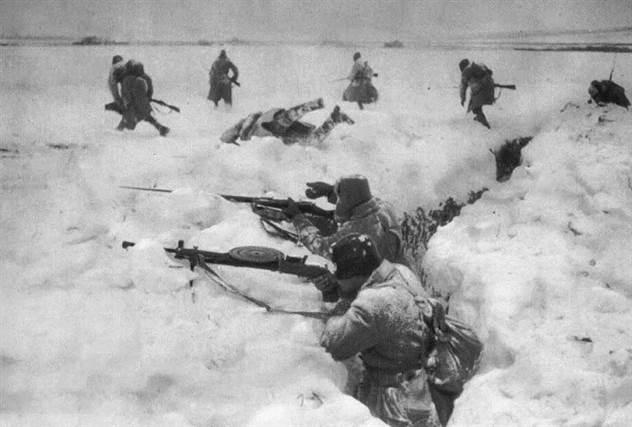 Как Красная Армия победила немцев на Куликовом поле в 1941 году ( 1 фото )