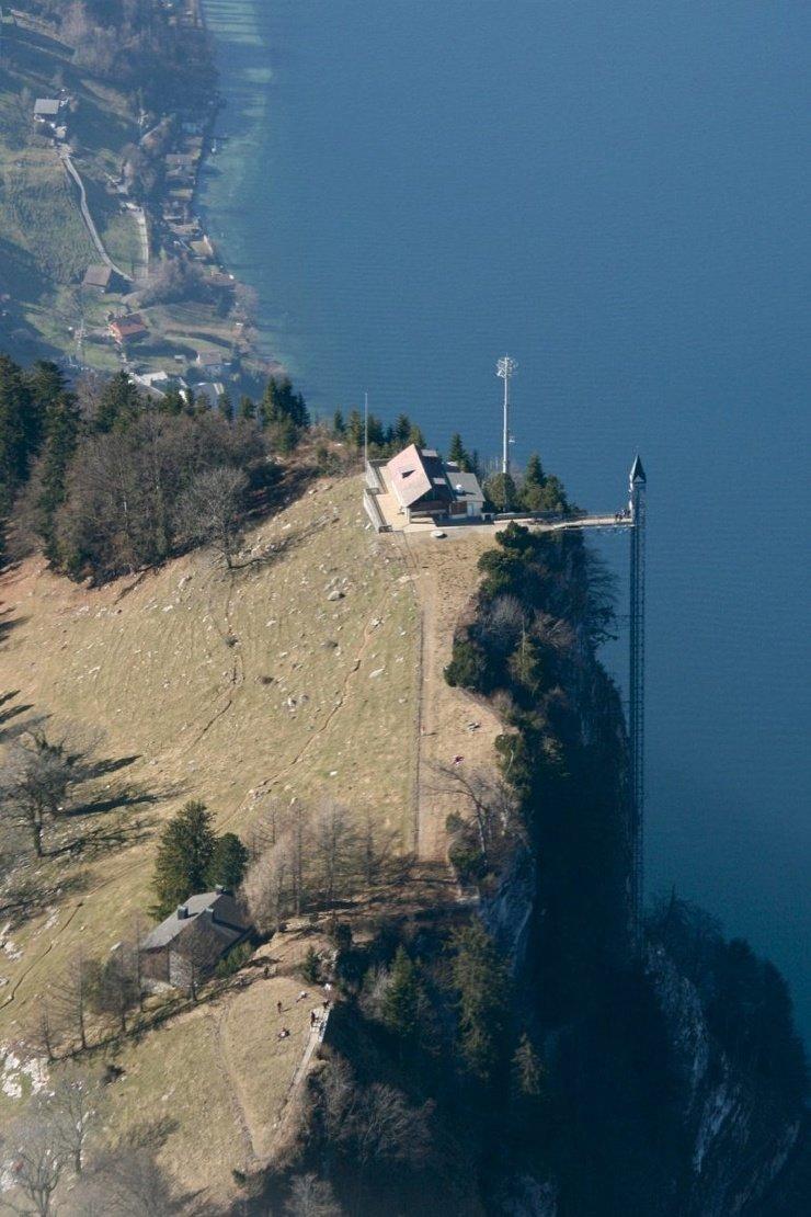 Хамметшванд - самый высокий лифт Европы ❘ фото