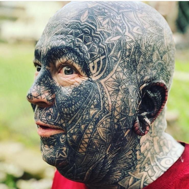 Люди, изуродовавшие свою внешность ❘ 20 фото