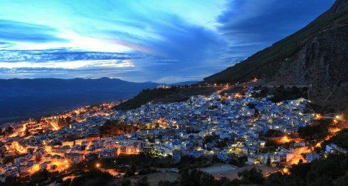 Посетите голубую жемчужину Марокко – город Шефшауэн (13 фото)