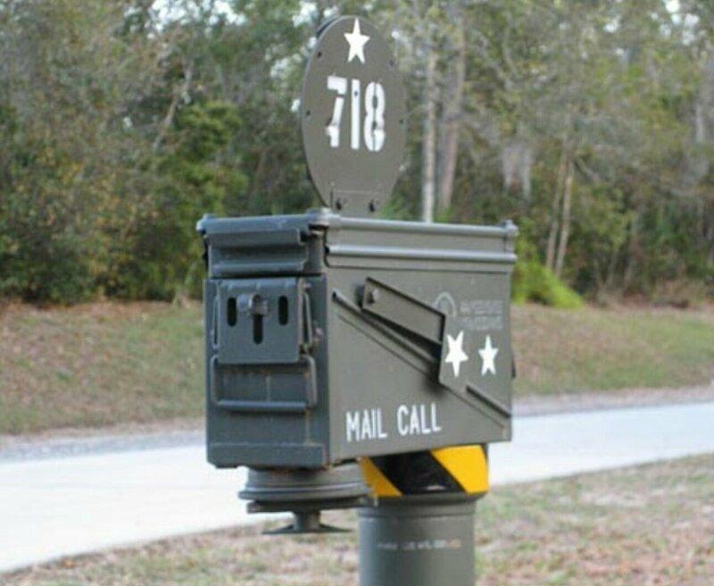 Очень необычные почтовые ящики