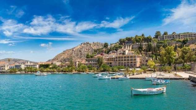 Самые интересные курорты Греции (4 фото)
