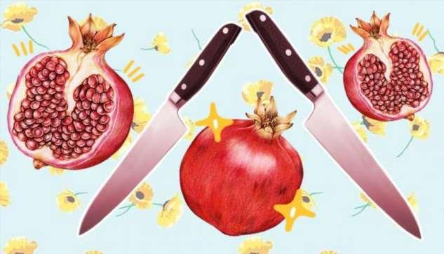 Чистить гранат ещё никогда не было так приятно. Люди узнали, как надо резать фрукт, и это кулинарная революция ❘ видео ❘ ОБНОВЛЕНО