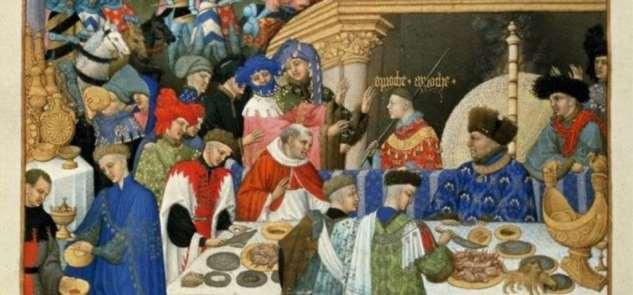 Как проходили средневековые застолья ❘ фото