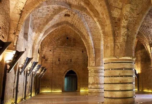 Тоннели тамплиеров найдены в израильском городе Акко