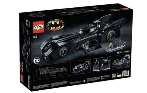 LEGO выпускает копию Бэтмобиля в честь 30-летия выхода фильма Тима Бёртона «Бэтмен» (14 фото)