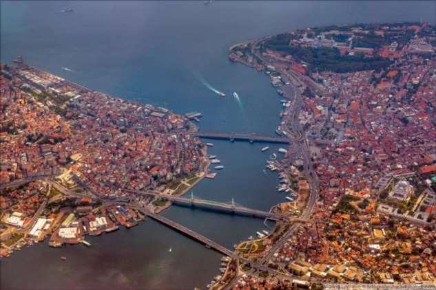 Стамбул с высоты (23 фото)