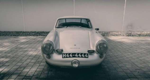 Gloeckler-Porsche 356 Coupe 1954 (10 фото)