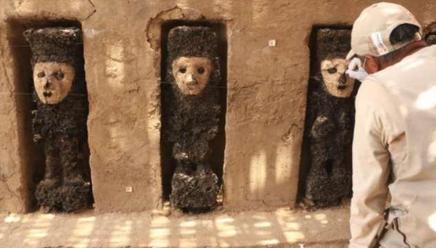 В Перу на развалинах города Чан-Чан нашли 19 фигурок хранителей